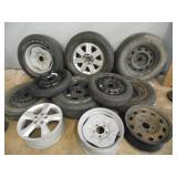 12 Tires and Wheels - current bid $10