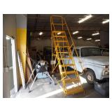 Commercial Portable Metal Stairs - current bid $25