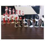 Art-Deco Porcelain Chess Set (Like-New) - current bid $10