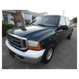 1999 Ford F250 Crew Cab XLT - Runs and drives - current bid $950