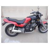 1987 Yamaha FZX700 Fazer Motorcycle - Key