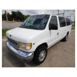 1999 Ford E-350 Van - Runs - current bid $325