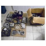 Honda GX160 5.5hp Engine & more - current bid $35