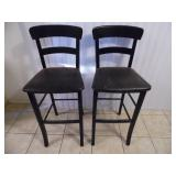 (2) Bar Stool Chairs - current bid $10