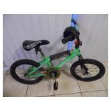 Hotwheels Speed Demon Kids Bike - current bid $10