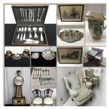 STERLING, FINE ART, RARE ANTIQUES ONLINE AUCTION