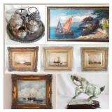 Estate Fine Art and Imported Furniture Online Auction-