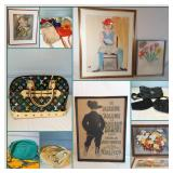 DESIGNER HANDBAGS, RETRO HOME DECOR, & ARTWORK ONLINE AUCTION