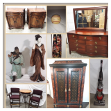 Collectibles & Antique Furniture Online Auction One