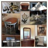 BROYHILL FURNITURE, SIGNED PRINTS, & ELECTRONICS ONLINE AUCTION