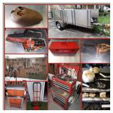 HARLEY DAVIDSON, TOOLS, & VINYL RECORDS ONLINE AUCTION THREE
