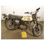 1972 Honda CL175 Motorcycle