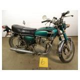 1971 Honda CB350 Motorcycle