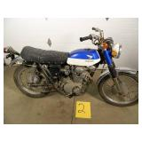 1968 Honda CL350 Motorcycle