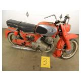 1964 Honda Dream Motorcycle