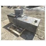 Truck Auxiliary Fuel Tank & Wet Kit Tank