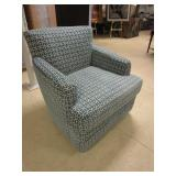 ACCENT CHAIR THAT ROCKS AND SWIVELS