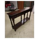 ENGLISH LEG CONSOLE TABLE