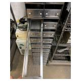STAINLESS PARTS CABINET