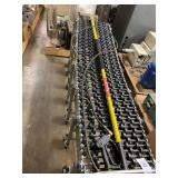 FLEXIBLE CONVEYOR & PRESSURE WASHER WAND