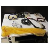 GOGGLES AND SNORKEL EQUIPMENT