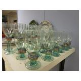 ITALIAN AND PORTUGUESE DISHES AND GLASSWARE