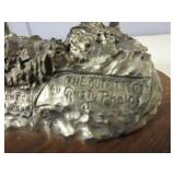 LIMITED EDITION CAST PEWTER SCULPTURE BY RUSTY PHELPS