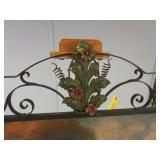 HAND PAINTED FIREPLACE SHIELD
