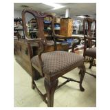 BAUSMAN WOODEN CONVERSATION TABLE WITH CHAIRS