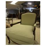 FRENCH COUNTRY CHAIRS WITH DOWN CUSHIONS