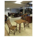 WILLOW TABLE AND CHAIRS SET