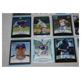 Kansas City Royals 20 Card In Person Autographed Lot