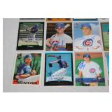 Chicago Cubs 20 Card In Person Autographed Lot