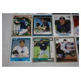 New York Yankees 20 Card In Person Autographed Lot