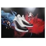 2011 Nike Air Jordan Dwayne Wade Sneaker In Store Sign