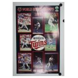 Minnesota Twins 1987 World Series Midwest Federal Poster