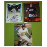 Robbie Grossman In Person Autograph Lot of 3