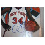 2003 Antonio McDyess New York Knicks Photo File Auto PSA/DNA