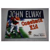 Autographed Hardcover Book John Elway