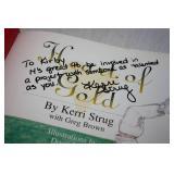 Autographed Hardcover Book Kerri Strug