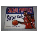 Autographed Hardcover Book Sheryl Swoopes