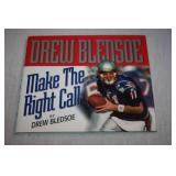 Autographed Hardcover Book Drew Bledsoe