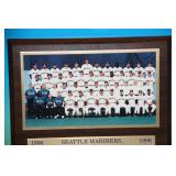 1996 Seattle Mariners Plaque
