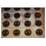 2005 Minnesota Vikings Star Tribune Medallion Collection Set