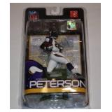 Lot of 3 Different Adrian Peterson McFarlane Figures