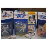Lot of 7 Minnesota Twins Starting Lineup Figures