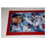New York Yankees Framed Photo Derek Jeter