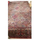 """Wool Oriental Rug ~ 16.4"""" x 11.4"""""""