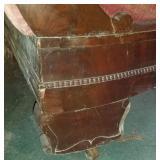 Antique Empire Velvet Sofa Couch