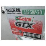2 Cases of Castrol GTX SAE 5W-30 Motor Oil